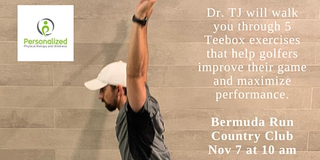 IN PERSON Injury proof your golf game with 5 Teebox exercises tickets