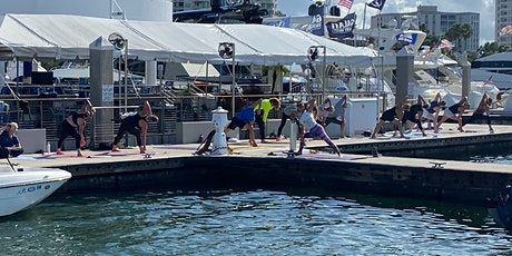 Dock Yoga at Marina Jack, Bayfront Sarasota FL tickets