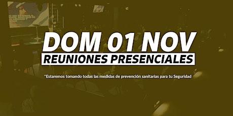 Reunión 5PM - Domingo 01/NOV