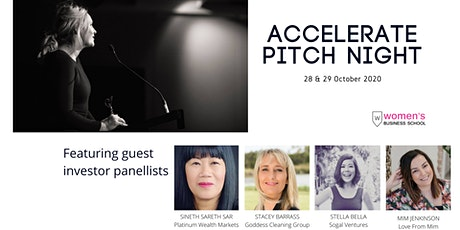 Accelerate Pitch Night tickets