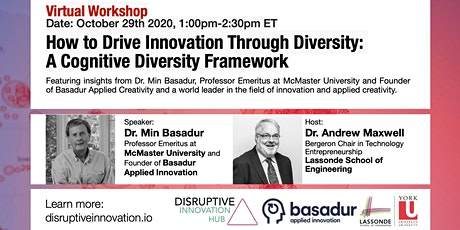 How to Drive Innovation Through Diversity:  A Cognitive Diversity Framework tickets