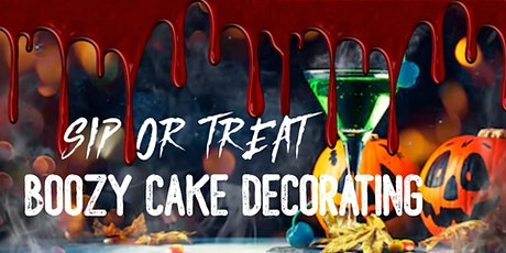 Sip or Treat: Boozy Cake Decorating tickets