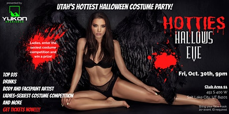 Hotties Hallows Eve-Halloween Costume Party tickets