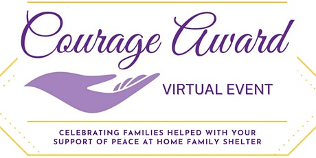 Peace at Home Courage Awards 2020 tickets
