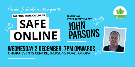 Keeping Your Children Safe Online with John Parsons tickets