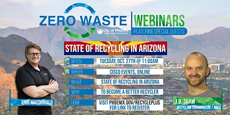 State of Recycling: How Arizona is Addressing the Three R's tickets