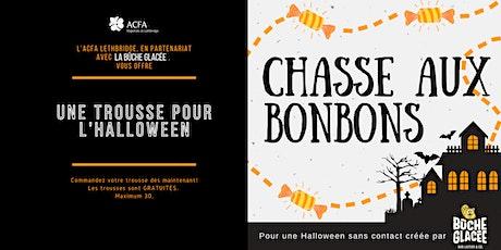 Commandez votre chasse aux bonbons  d'Halloween CLÉ EN MAIN tickets