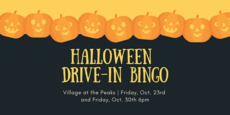 Halloween Drive-In Bingo tickets