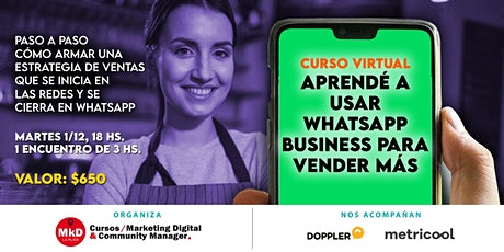 Curso de WhatsApp Business entradas