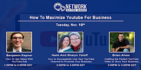 Virtual Summit: How To Maximize Youtube For Business tickets