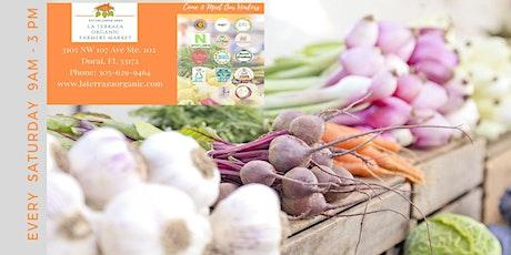 LA TERRAZA ORGANIC FARMERS MARKET | 9am - 3pm tickets