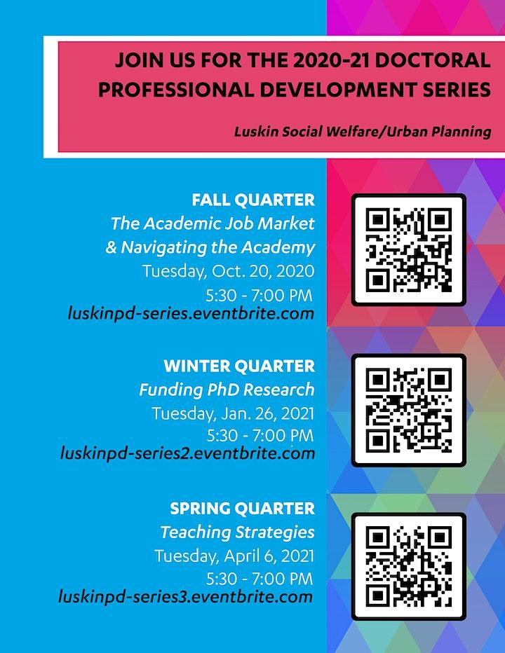 The Academic Job Market & Navigating the Academy image