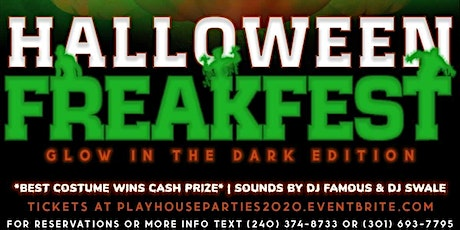 Halloween FreakFest(Glow Edition) tickets