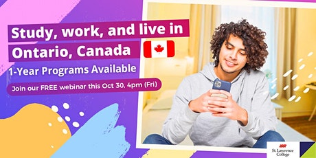 Study in St. Lawrence College Canada tickets