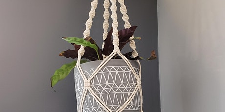 Introduction to Macrame Plant Hangers (Virtual) tickets