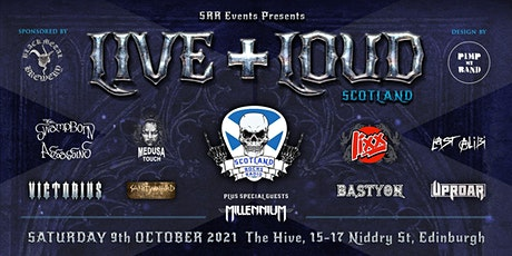 Live And Loud Scotland tickets