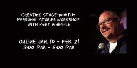Creating Stage-Worthy Personal Stories Online Workshop tickets
