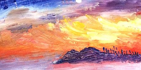 Acrylic Painting Course 2: Winter Season tickets