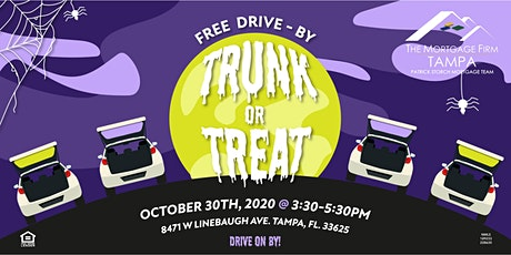 """FREE """"Drive-By"""" Trunk or Treat tickets"""