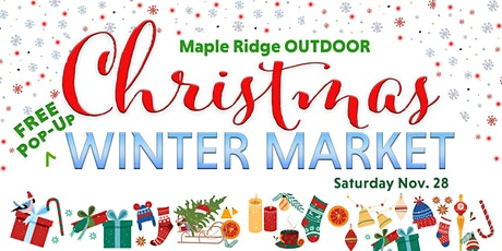 Maple Ridge Pop Up Christmas Craft Fair tickets
