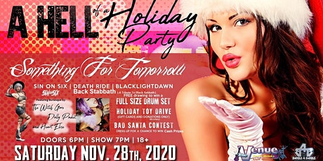 A HELL OF A HOLIDAY PARTY: Live Music | Burlesque | Drumset GIveaway & More tickets
