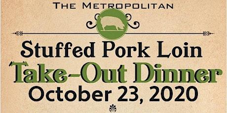 Stuffed Pork Loin Take-Out Dinner