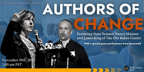 UnCommon Heroes 2020: Authors of Change tickets
