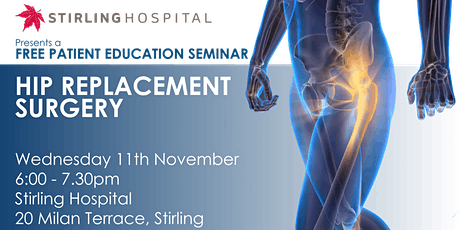 FREE Patient Seminar on Hip Replacement Surgery tickets