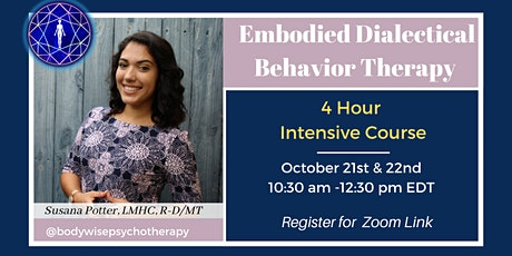 Embodied DBT 4 hour Virtual Intensive tickets