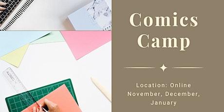 Comics Camp tickets