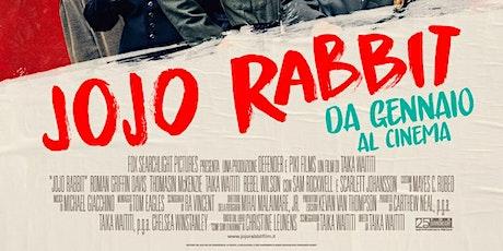 Proiezione 25/10- 20.30 - JOJO RABBIT - Aula consiliare biglietti