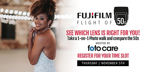 Fujifilm | Flights of 50's tickets