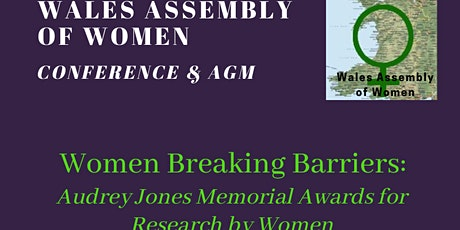 Women Breaking Barriers: Audrey Jones Memorial Research Awards 2020 & AGM tickets