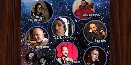 Cosmic Comedy Club Berlin with Free Vegetarian & Vegan Pizza tickets