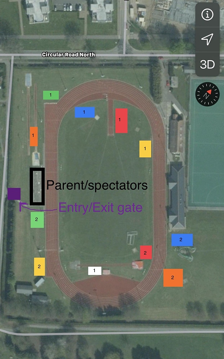 Colchester & Tendring Athletics Club - Return to track March  2021 - Weds image