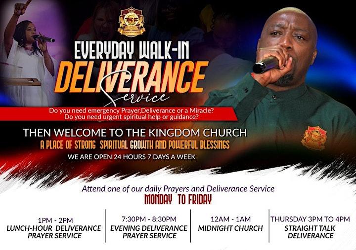 Midnight Deliverance Service image