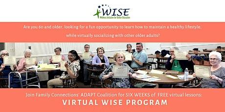 Virtual WISE Program tickets