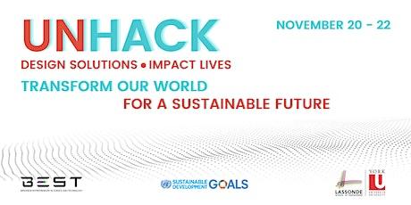 UNHack (Design Sprint) 2020 - Design Solutions - Impact Lives tickets