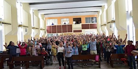 Igreja Metodista  Cascadura 25/10_Manhã ingressos