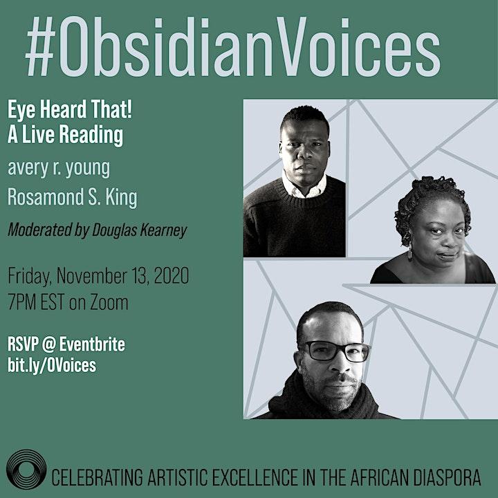 #ObsidianVoices Fall 2020 image