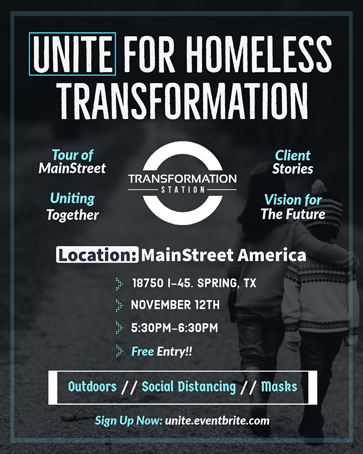 Unite for Homeless Transformation image