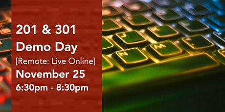 201 & 301 Virtual Demo Day Presentations tickets