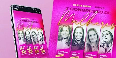 1° Congresso De Mulheres MAD ingressos