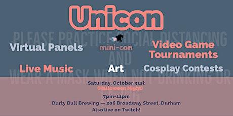 Unicon: A Mini-Con For All tickets