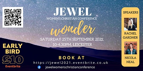 JEWEL 2021 - Wonder - Women's Christian Conference tickets