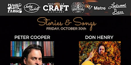 Stories & Songs: Peter Cooper ft. Don Henry tickets