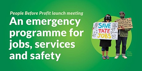 Launch of the Emergency Programme for Jobs, Services and Safety tickets
