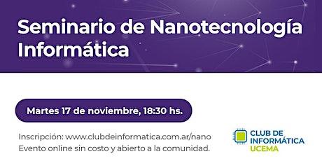 Seminario de Nanotecnología entradas