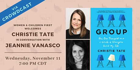 Virtual Book Launch: THE GROUP by Christie Tate tickets