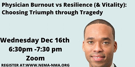 Physician Burnout vs Resilience (Vitality) tickets